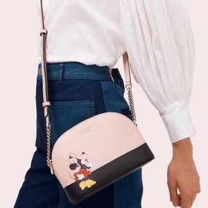 RARE NEW Kate Spade x Minnie Mouse Dome Crossbody
